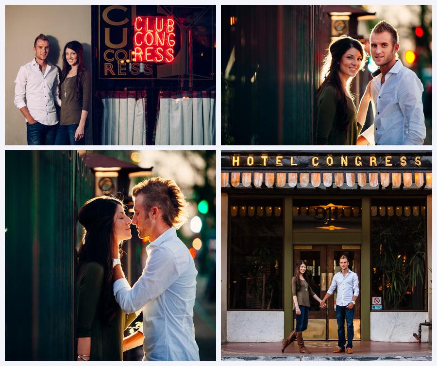 Tucson Wedding Photographer Engagement Photos Downtown Tucson