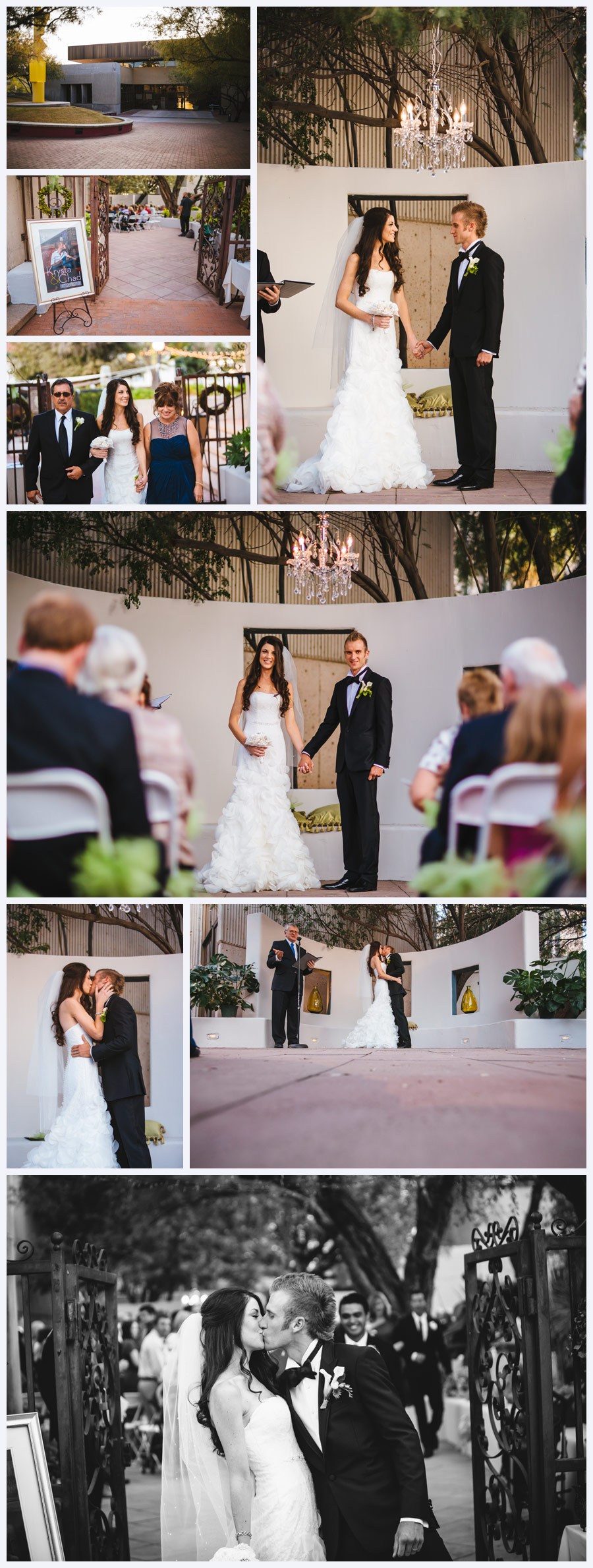 Tucson Wedding Photographer Wedding at Tucson Museum of Art